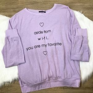 Wildfox WiFi BBJ Sweater S